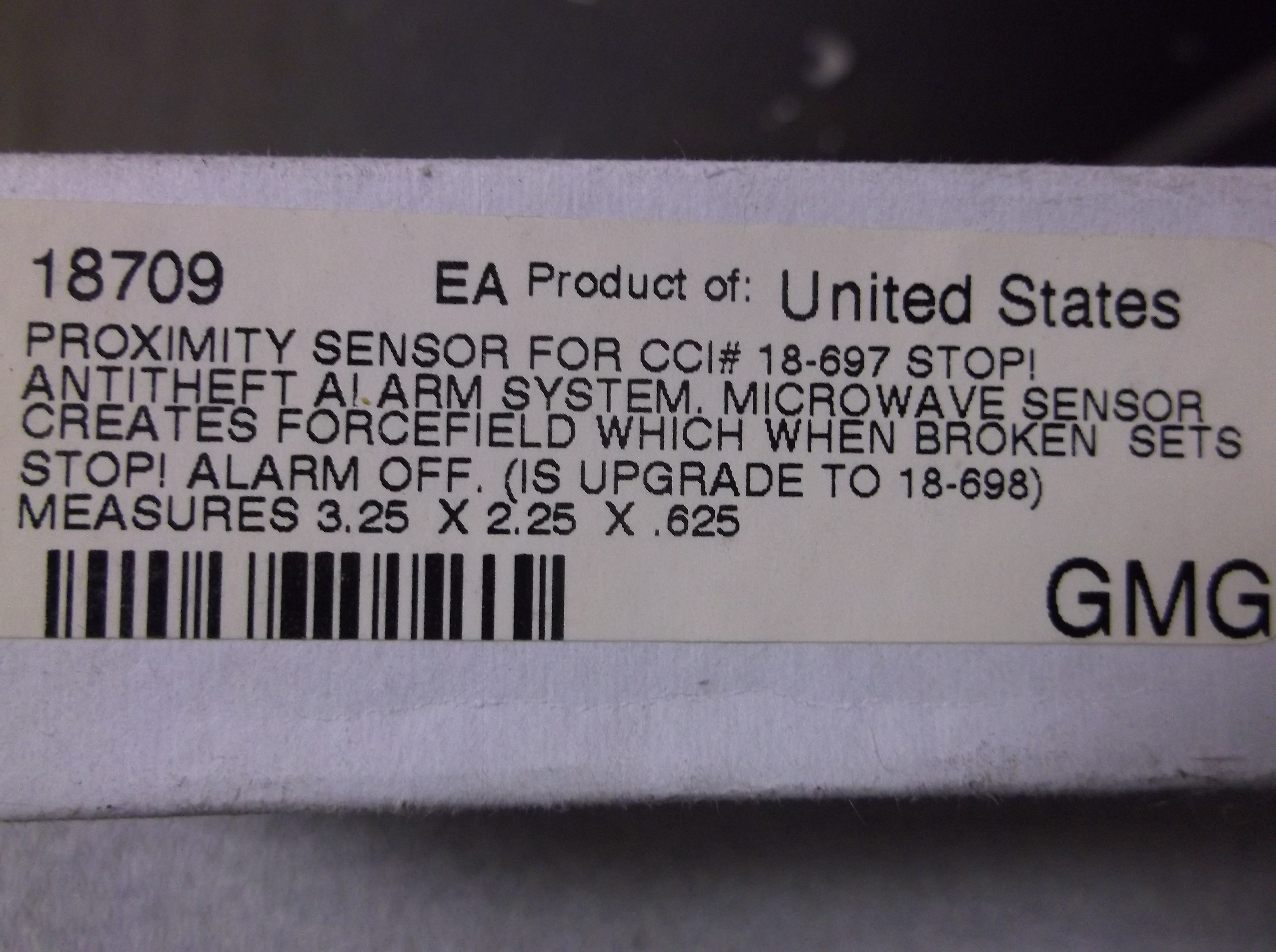 $54 Proximity Sensor Upgrade for Armed Guard /'G-Force-200/' Motorcycle Alarm