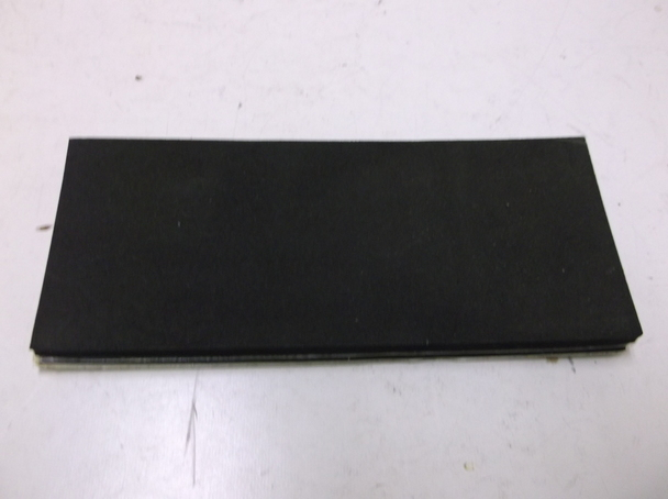 """Lot of 4 Big Dog #55221  6 3//4/"""" x 3/"""" Foam Battery Pads Adaptable to Choppers"""