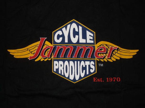 "Ladies Black Short Sleeve Jammers /""Winged/"" T-shirt Size Large NEW!!!"