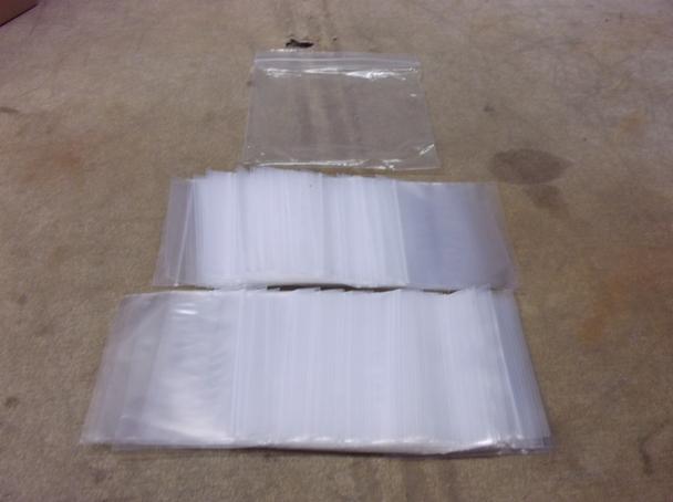 "BRAND NEW OEM Original ULINE S-1292 3"" X 4"" 2 mil Poly Reclosable Zip Bags"