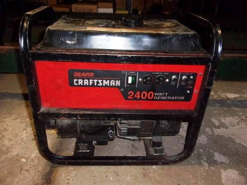 Sears Craftsman 2400 Watt Generator 200 Ebay